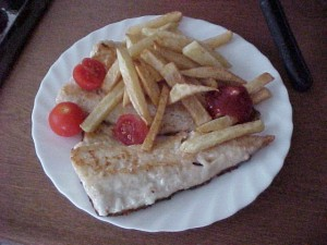 fried fish and chips